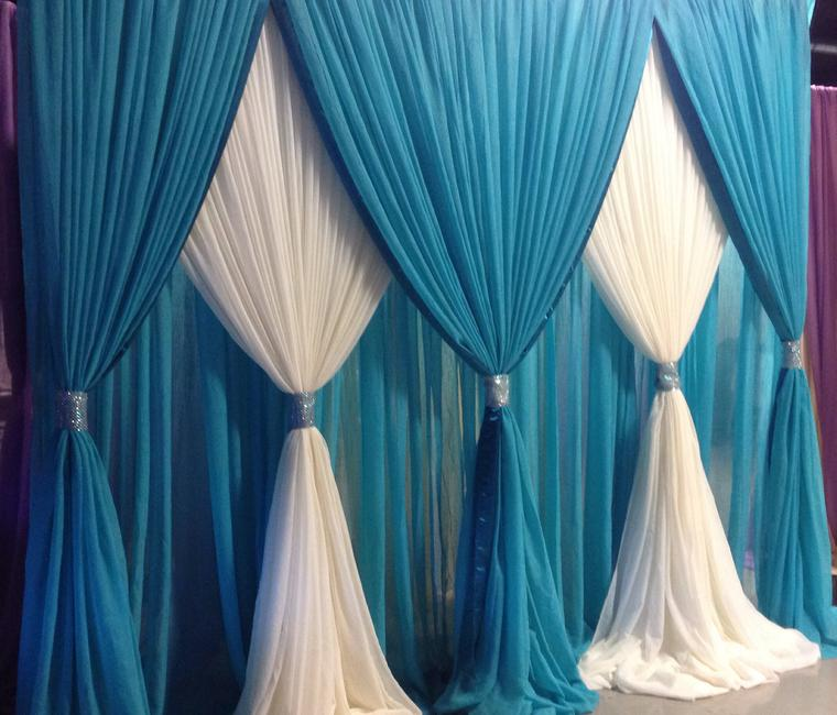 1000 ideas about pipe and drape on pinterest wedding for Backdrop decoration for church