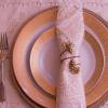 Beautiful place settings for sweetheart and reception tables